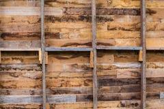 Ξύλινος τοίχος Στοκ φωτογραφίες με δικαίωμα ελεύθερης χρήσης