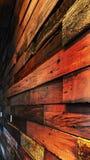 Ξύλινος τοίχος Στοκ Εικόνες