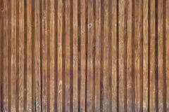 Ξύλινος τοίχος, borwn σύσταση φύσης Στοκ εικόνα με δικαίωμα ελεύθερης χρήσης