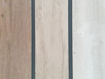 Ξύλινος τόνος σχεδίων τοίχων τρία Στοκ εικόνα με δικαίωμα ελεύθερης χρήσης
