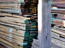 Ξύλινος-υλικός Στοκ Εικόνα