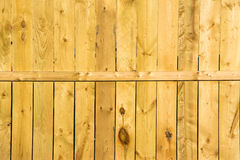 Ξύλινος φράκτης επιτροπής Στοκ Φωτογραφία