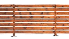 Ξύλινος φράκτης με τους οριζόντιους πίνακες Στοκ φωτογραφίες με δικαίωμα ελεύθερης χρήσης