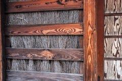 Ξύλινος φράκτης στην Ιαπωνία Στοκ εικόνες με δικαίωμα ελεύθερης χρήσης