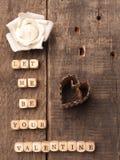 Ξύλινος χωρίζει σε τετράγωνα με τη μορφή καρδιών Στοκ εικόνα με δικαίωμα ελεύθερης χρήσης