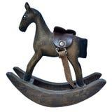 Ξύλινο άλογο λικνίσματος Στοκ φωτογραφία με δικαίωμα ελεύθερης χρήσης