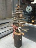 Ξύλινο δέντρο Στοκ Φωτογραφίες