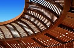 Ξύλινο ανώτατο gazebo Στοκ φωτογραφία με δικαίωμα ελεύθερης χρήσης