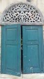 Ξύλινο αρχαίο παράθυρο Στοκ Εικόνες