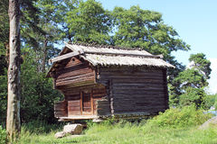 Ξύλινο αρχιτεκτονικό μνημείο Στοκ φωτογραφία με δικαίωμα ελεύθερης χρήσης