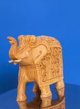 Ξύλινο γλυπτό ελεφάντων Στοκ Εικόνα