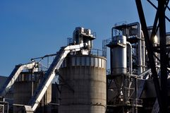Ξύλινο εργοστάσιο βιομηχανίας στοκ εικόνες με δικαίωμα ελεύθερης χρήσης
