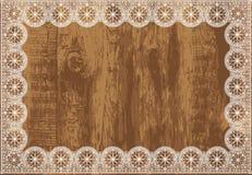 Ξύλινο διάνυσμα πλαισίων lase Στοκ Εικόνες