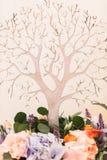Ξύλινο διακοσμητικό δέντρο Στοκ Φωτογραφίες