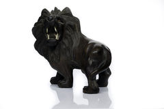 Ξύλινο λιοντάρι Στοκ Φωτογραφίες