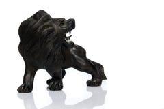 Ξύλινο λιοντάρι Στοκ Εικόνες