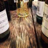 Ξύλινο κατάστημα φραγμών κρασιού Στοκ Εικόνες