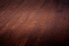 Ξύλινο καφετί φυσικό πάτωμα υποβάθρου Στοκ φωτογραφία με δικαίωμα ελεύθερης χρήσης