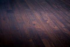 Ξύλινο καφετί φυσικό πάτωμα υποβάθρου Στοκ Εικόνα