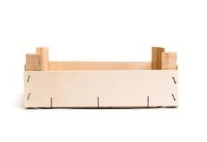 Ξύλινο κενό κιβώτιο Στοκ εικόνα με δικαίωμα ελεύθερης χρήσης