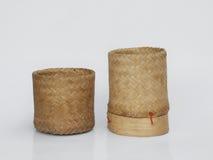 Ξύλινο κιβώτιο ρυζιού μπαμπού Στοκ φωτογραφία με δικαίωμα ελεύθερης χρήσης
