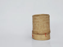 Ξύλινο κιβώτιο ρυζιού μπαμπού Στοκ Φωτογραφίες