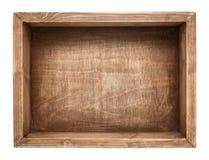 Ξύλινο κιβώτιο Στοκ Εικόνες