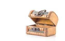 Ξύλινο κιβώτιο Στοκ Εικόνα