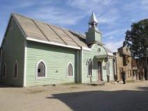 Ξύλινο κτήριο εκκλησιών Στοκ Εικόνες