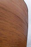 Ξύλινο μέρος τοίχων του παρεκκλησιού Kamppi στο Ελσίνκι, Φινλανδία Στοκ Φωτογραφίες