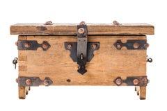 Ξύλινο μεσαιωνικό κιβώτιο Στοκ Εικόνα