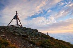Ξύλινο μνημείο στην ανατολή australites Στοκ Εικόνα