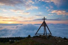 Ξύλινο μνημείο στην ανατολή australites Στοκ Εικόνες