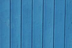 Ξύλινο μπλε φρακτών Στοκ φωτογραφία με δικαίωμα ελεύθερης χρήσης
