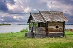 Ξύλινο νησί Kizhi churche, Καρελία Στοκ Εικόνες