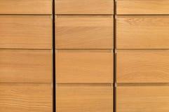 Ξύλινο ντουλάπι Στοκ Εικόνες