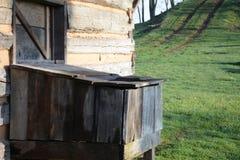 Ξύλινο δοχείο Στοκ φωτογραφίες με δικαίωμα ελεύθερης χρήσης