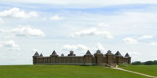 Ξύλινο οχυρό στοκ φωτογραφίες