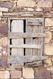 Ξύλινο παράθυρο στοκ φωτογραφίες με δικαίωμα ελεύθερης χρήσης