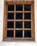 Ξύλινο παράθυρο Στοκ Εικόνες