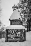 Ξύλινο παρεκκλησι Στοκ φωτογραφία με δικαίωμα ελεύθερης χρήσης