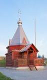 Ξύλινο παρεκκλησι Florus και Laurus Στοκ φωτογραφία με δικαίωμα ελεύθερης χρήσης