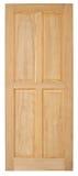 Ξύλινο παλαιό ύφος πορτών στο άσπρο υπόβαθρο Στοκ Εικόνα