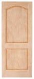 Ξύλινο παλαιό ύφος πορτών στο άσπρο υπόβαθρο Στοκ εικόνες με δικαίωμα ελεύθερης χρήσης