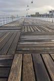 Ξύλινο πεζοδρόμιο σε Parque EXPO, Λισσαβώνα, Πορτογαλία Στοκ Εικόνα