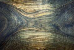 Ξύλινο πιάτο με τα χρώματα διάσπαση-τόνου Στοκ Εικόνες