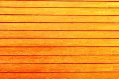 Ξύλινο πορτοκάλι τοίχων Στοκ Φωτογραφίες