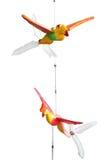 Ξύλινο πουλί Thw Στοκ εικόνα με δικαίωμα ελεύθερης χρήσης