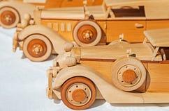 Ξύλινο πρότυπο αυτοκινήτων Στοκ εικόνες με δικαίωμα ελεύθερης χρήσης