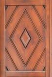 Ξύλινο πρότυπο πορτών Στοκ εικόνα με δικαίωμα ελεύθερης χρήσης